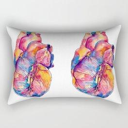 Heart Is On Fire Rectangular Pillow