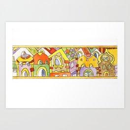 Hauses Art Print
