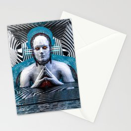 El Pensador Profundo Stationery Cards