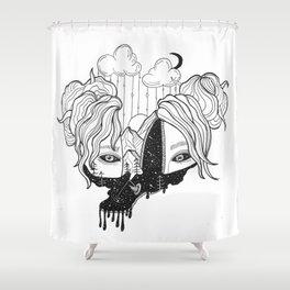 whoa Shower Curtain