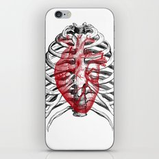 Heart Bones iPhone & iPod Skin