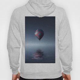 Hot Air Balloon Reflection Hoody