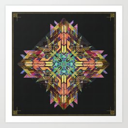 // Point of Relation Art Print
