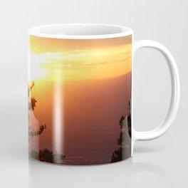 Sunset from the Sandias Coffee Mug