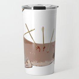 deer frida kahlo Travel Mug