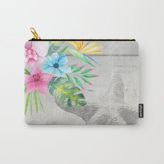 Tropical Beach #2 Carry-All Pouch