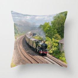 7029 Clun Castle Throw Pillow
