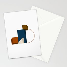 Abstrato 02 // Abstract Geometry Minimalist Illustration Stationery Cards