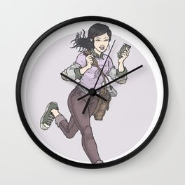 Lois Lane: Girl Reporter Wall Clock