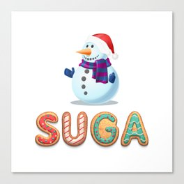 BTS member Suga: Happy Birthday! Canvas Print