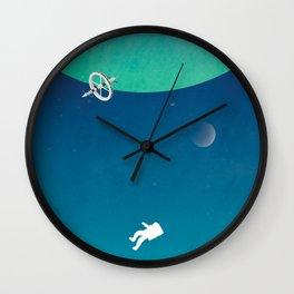Astronaut Gravity Wall Clock