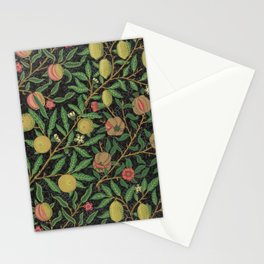 William Morris Fruit Print with Pomegranates and Lemons, 1862 Stationery Cards