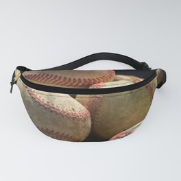 Baseballs and Glove Fanny Pack