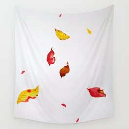 Autumn is falling Wall Tapestry