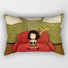 Make-believe a rainy cloud Rectangular Pillow
