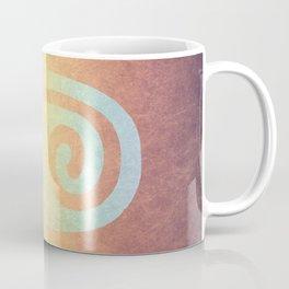 Spiral Hand Rainbow Coffee Mug