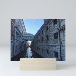 Bridge of Sighs Mini Art Print