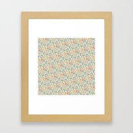 Vanilla Hankie Framed Art Print