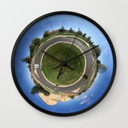 Roundabouts Wall Clock