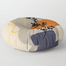 Abstract 63 Floor Pillow