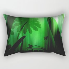 Deep in the rain forest. Rectangular Pillow