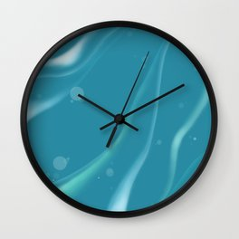 Under the Sea Life is the Bubbles ! Wall Clock