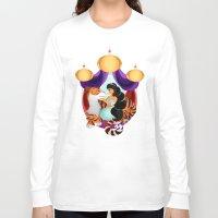 jasmine Long Sleeve T-shirts featuring Jasmine by Karrashi