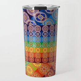 7 CHAKRA SYMBOLS OF HEALING ART #2 Travel Mug