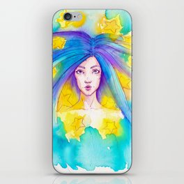 The woman with the twelve stars.. iPhone Skin