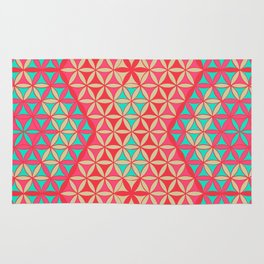 Flower of Life Pattern 31 Rug