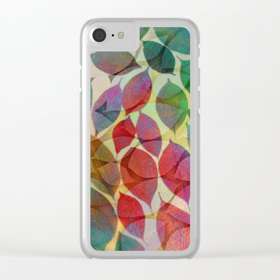 Seasons Change Clear iPhone Case