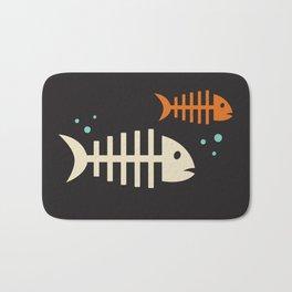 Fish Bones Bath Mat