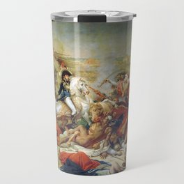 The Battle of Abukir, 25 July 1799 by Antoine-Jean Gros (1807) Travel Mug