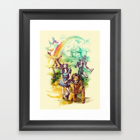 Where Dreams Come True Framed Art Print