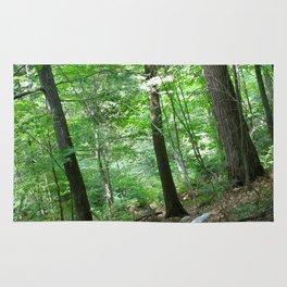 Forest Yoga Rug