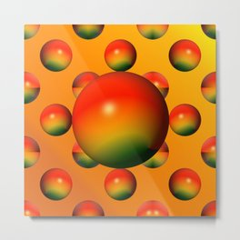 Bowls like apples ... Metal Print