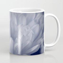 Blue Toned Flower Coffee Mug