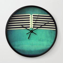 VW Bug Abstract Wall Clock