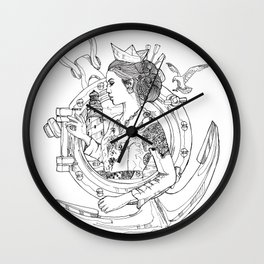 Refuse Of sink Wall Clock