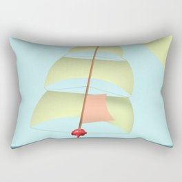 Flying and Sailing in May with May to America  - shoes stories Rectangular Pillow