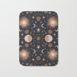 Moon Sun Stars Bath Mat
