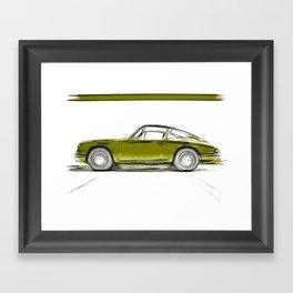 Porsche 911 / IV Framed Art Print