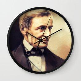 Ralph Waldo Emerson, Literary Legend Wall Clock
