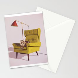 Cats on Chairs Deluxe Collection - Oscar Stationery Cards