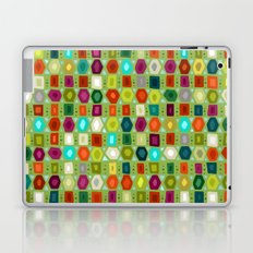 hex strip green Laptop & iPad Skin