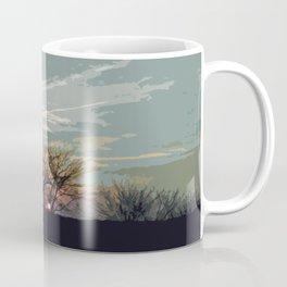 Wooded Sunset Coffee Mug
