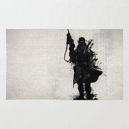 Post Apocalyptic Warrior Rug