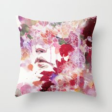 Garden IV Throw Pillow