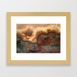 Idaho Gem Stone 39 Framed Art Print
