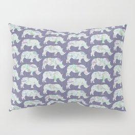 speckled rhinos Pillow Sham